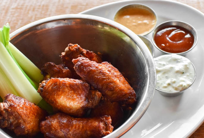 great wing options in bethesda