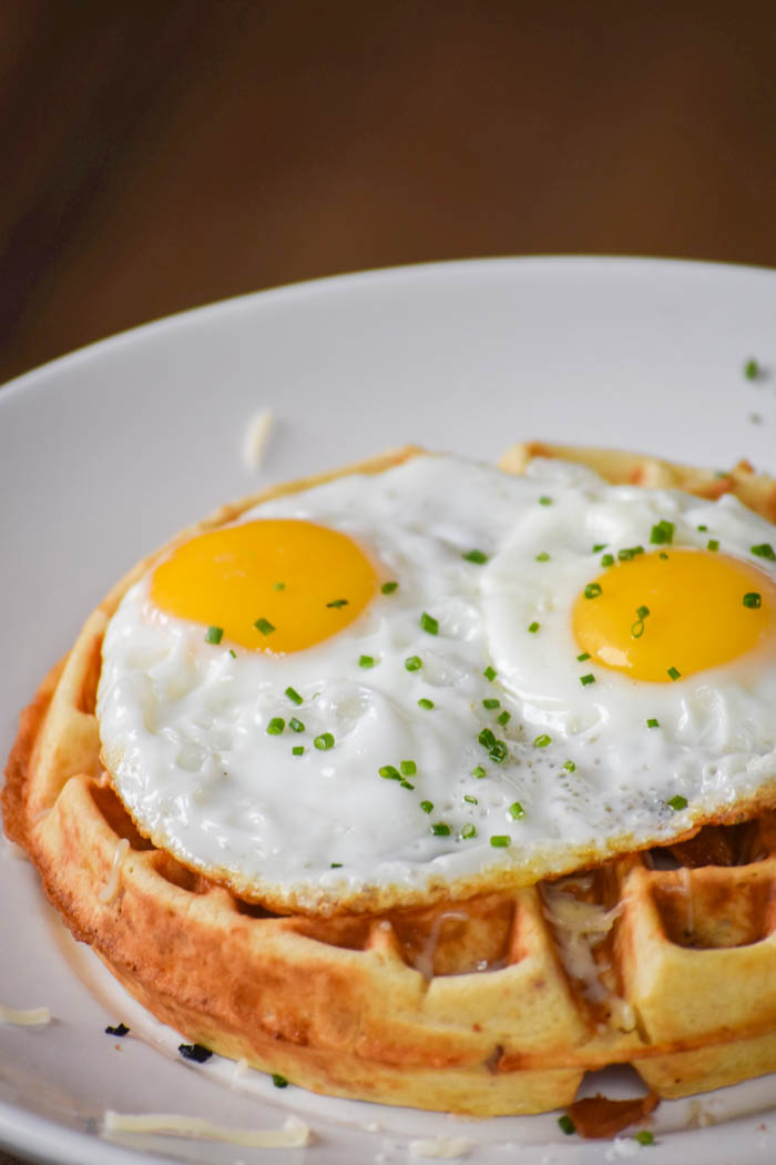 delicious savory waffles