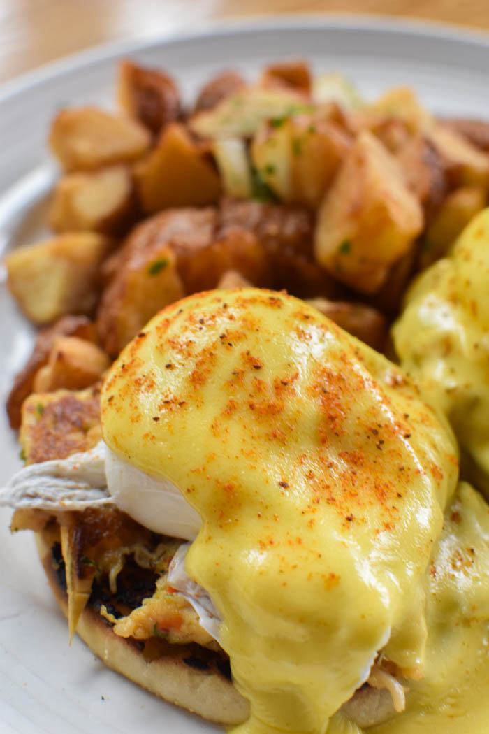 crabcake benedicts va