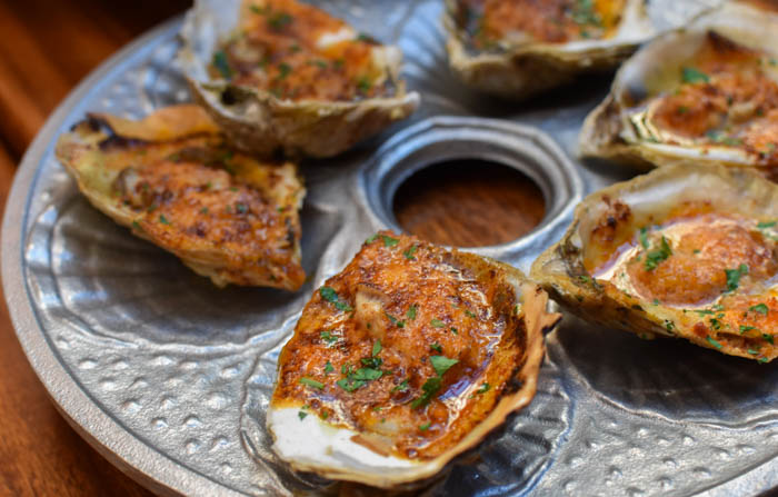 delicious baked oysters in virginia