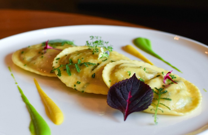 cauliflower ravioli