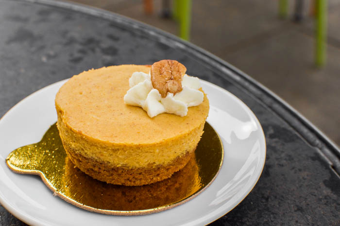 Pitango pumpkin cheesecake