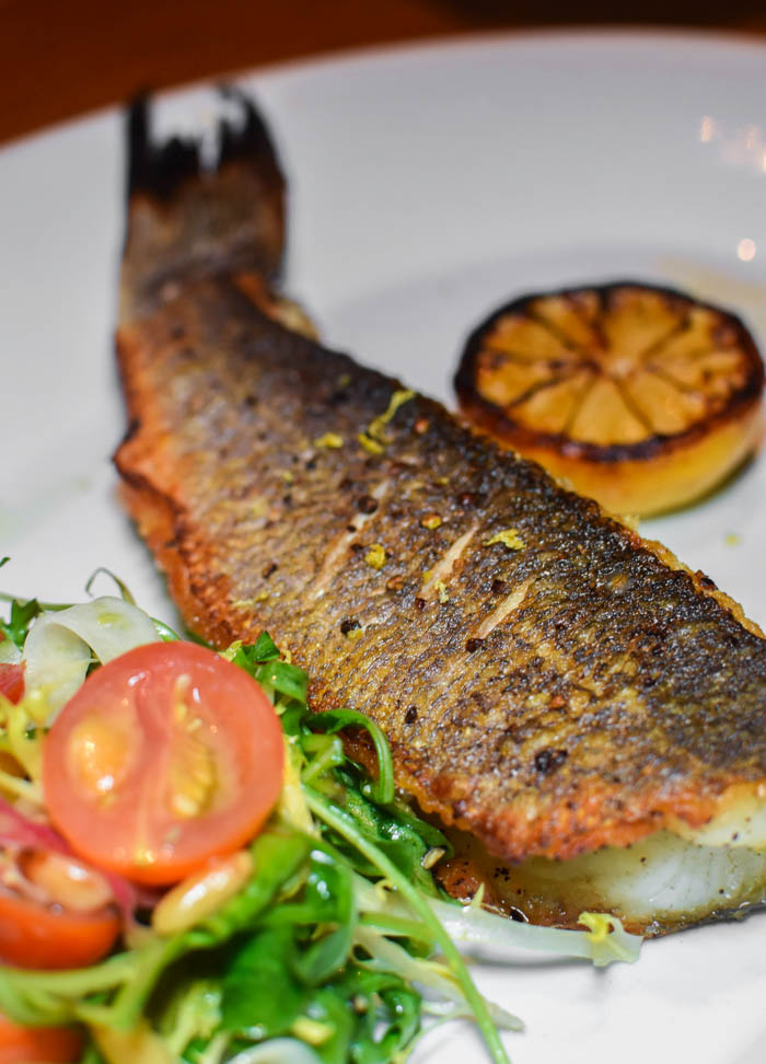 delicious fish dishes at Buddy Vs