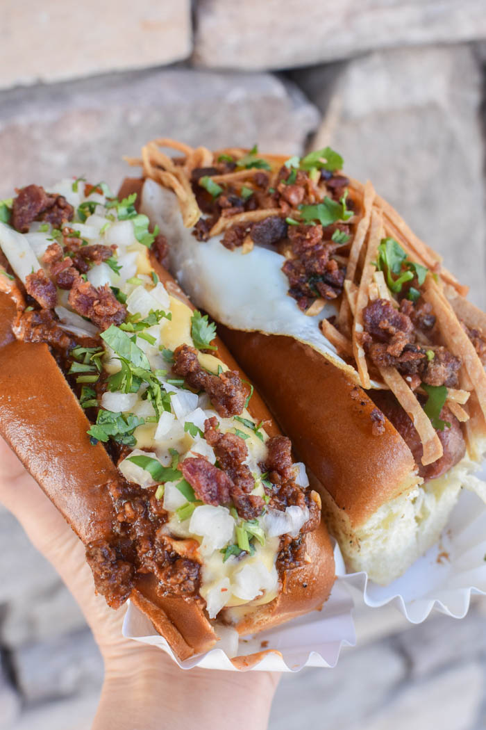 where to get amazing hot dogs in vegas