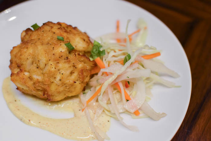 Gordon Ramsay Steak crabcake