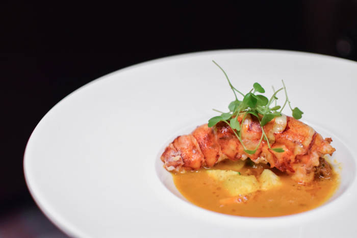 Gordon Ramsay Steak lobster appetizer
