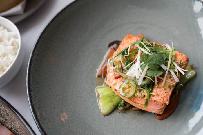 delicious salmon dishes in DC