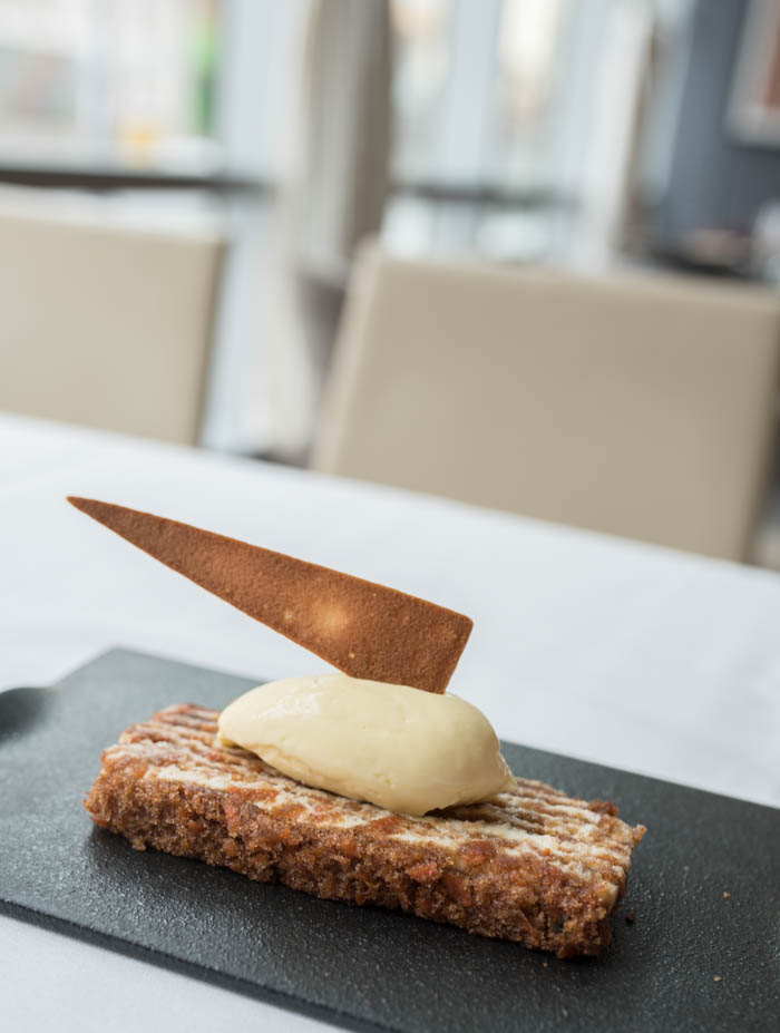 The Source by Wolfgang Puck carrot cake