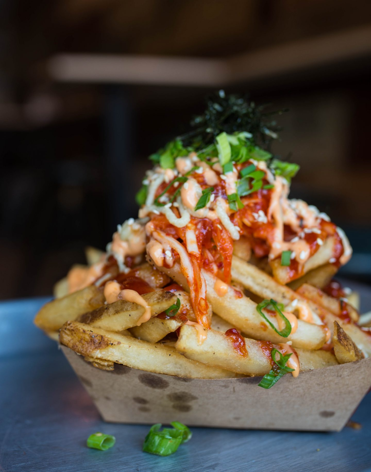 pow pow trolley fries