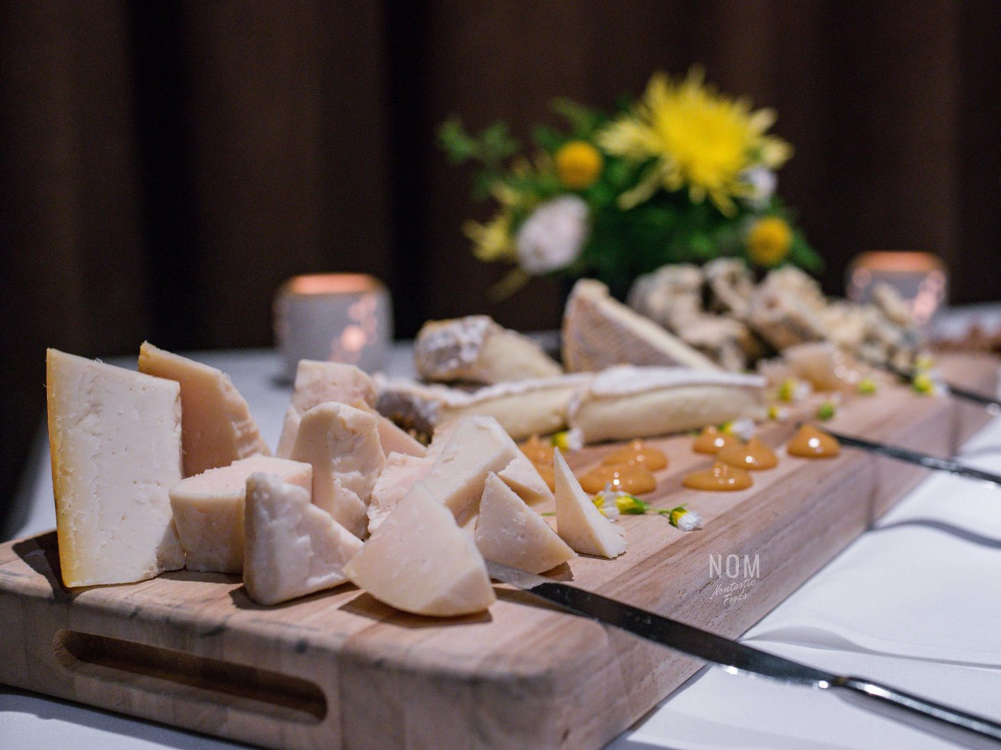 Alexander's Steakhouse cheese board