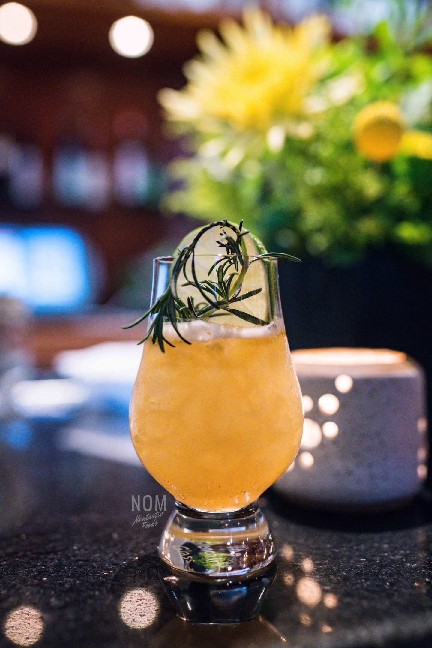 Alexander's Steakhouse Roasted Pineapple cocktail