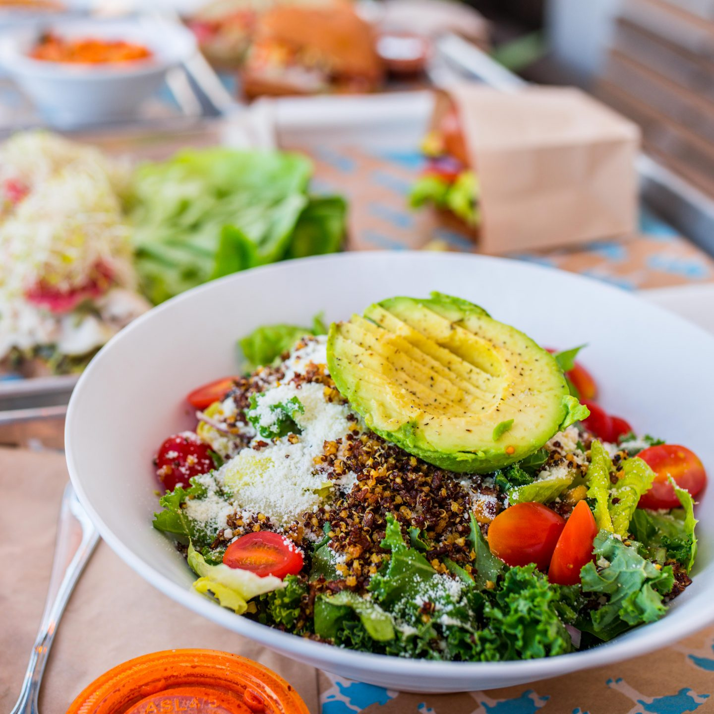 Avocado & Quinoa Superfood Ensalada