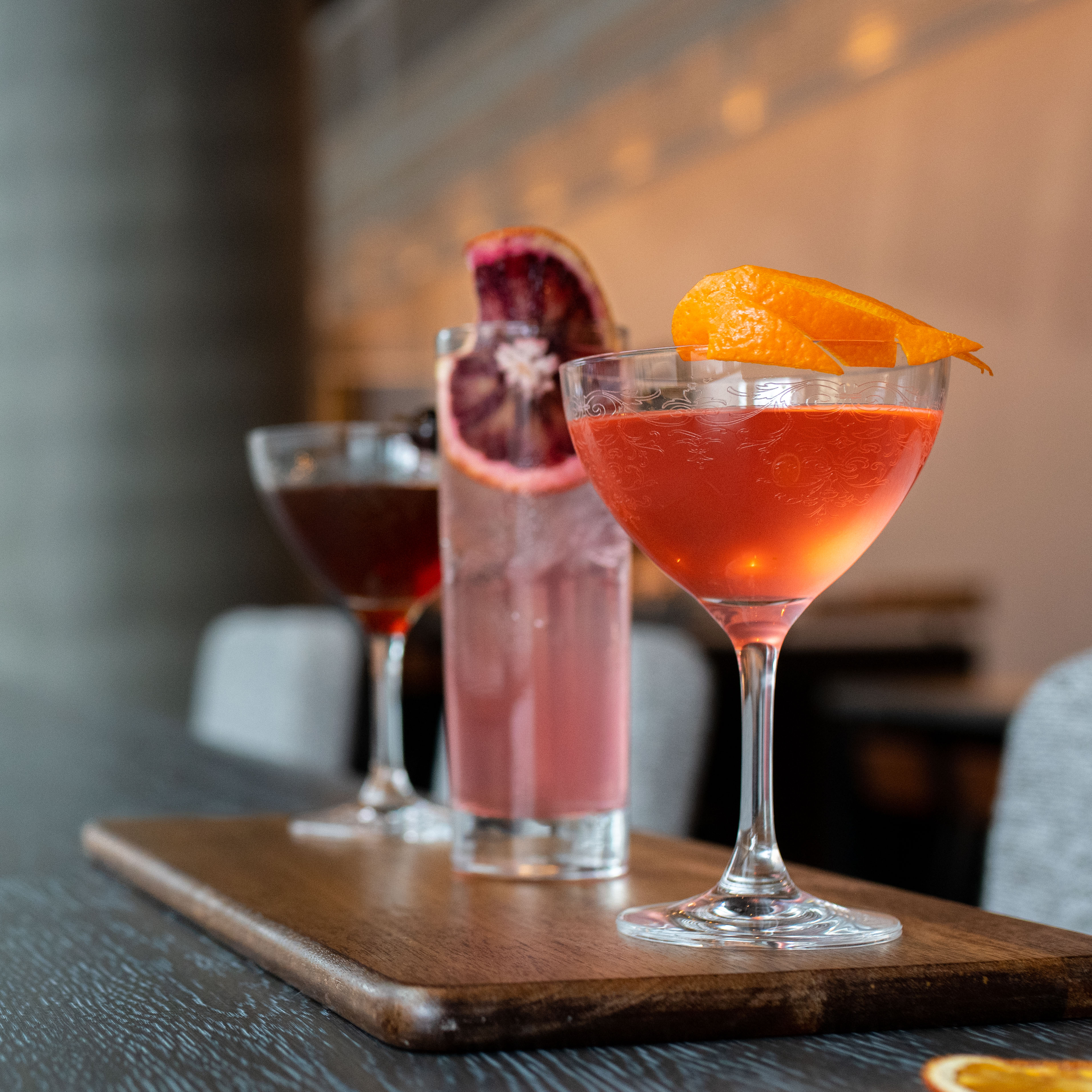 Best Restaurants in Seattle: Currant Bistro Cocktails