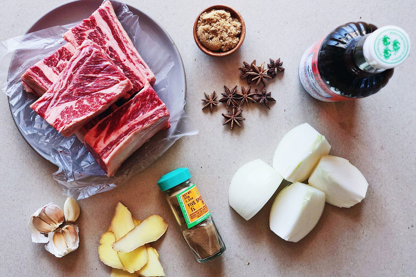 Shortcut Short Rib Pho in a Slow Cooker - Broth Ingredients