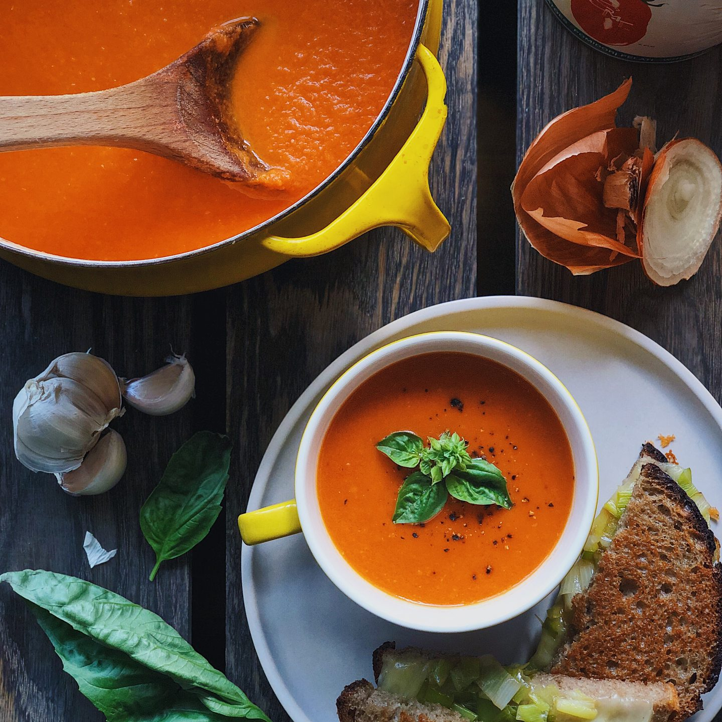 Amazingly Easy Tomato Soup