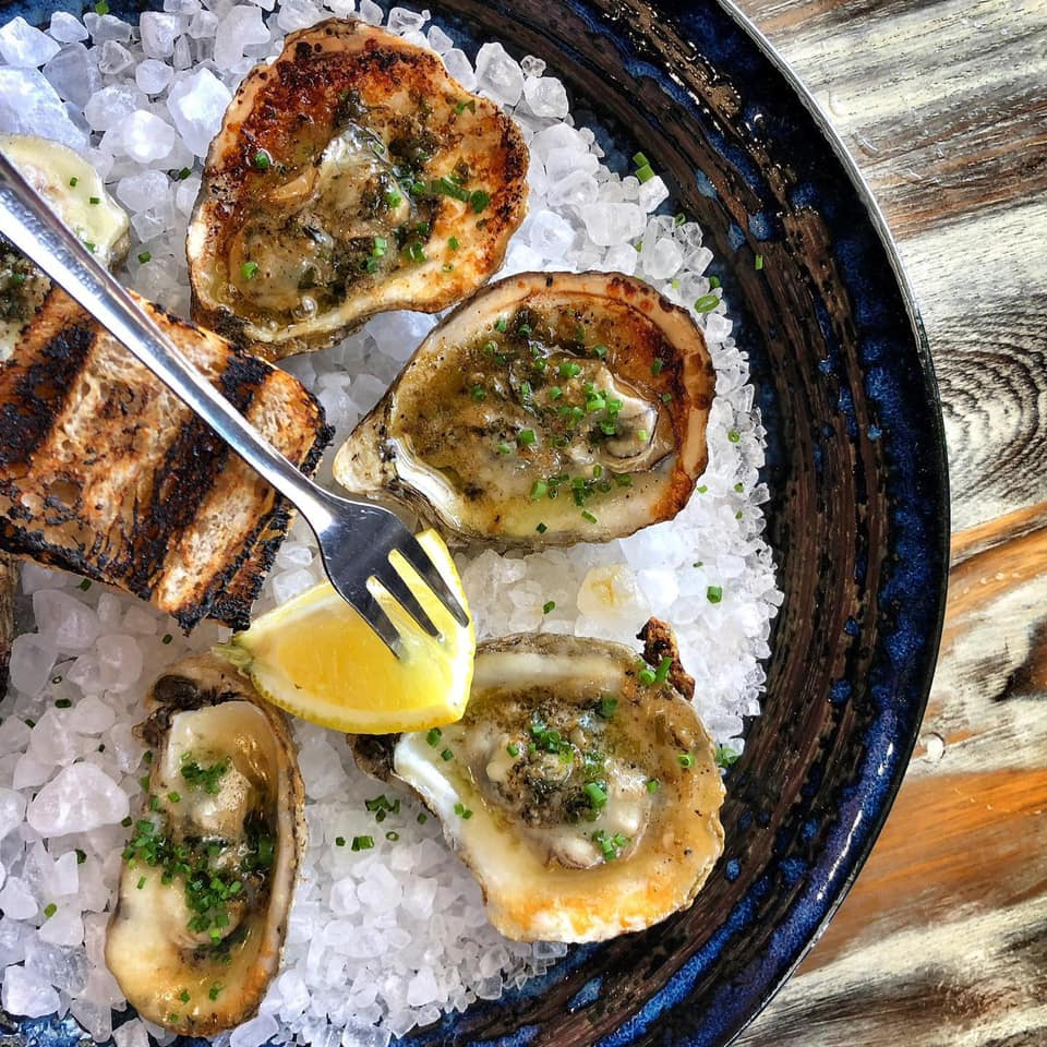 Casa Pearl oysters
