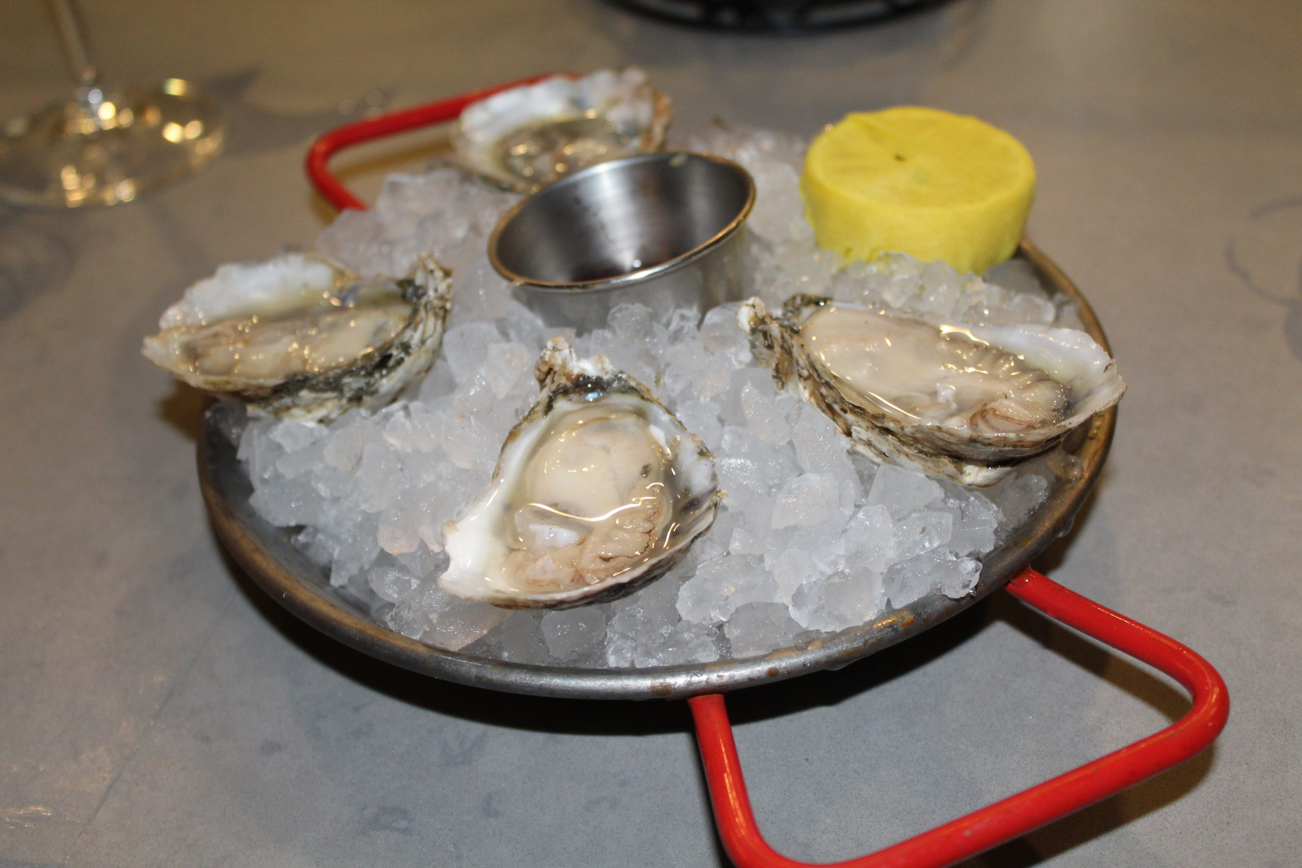 The Atlantic on Pacific oysters