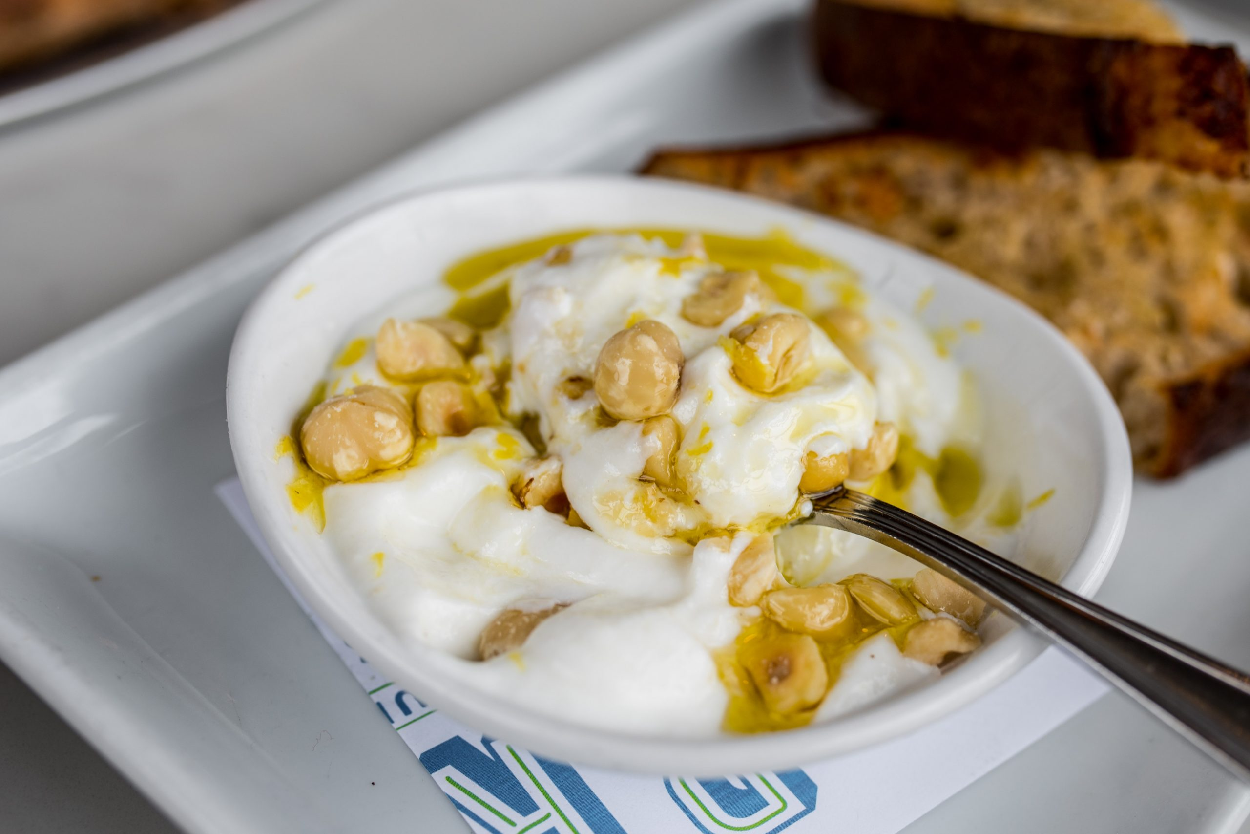 whipped ricotta appetizer