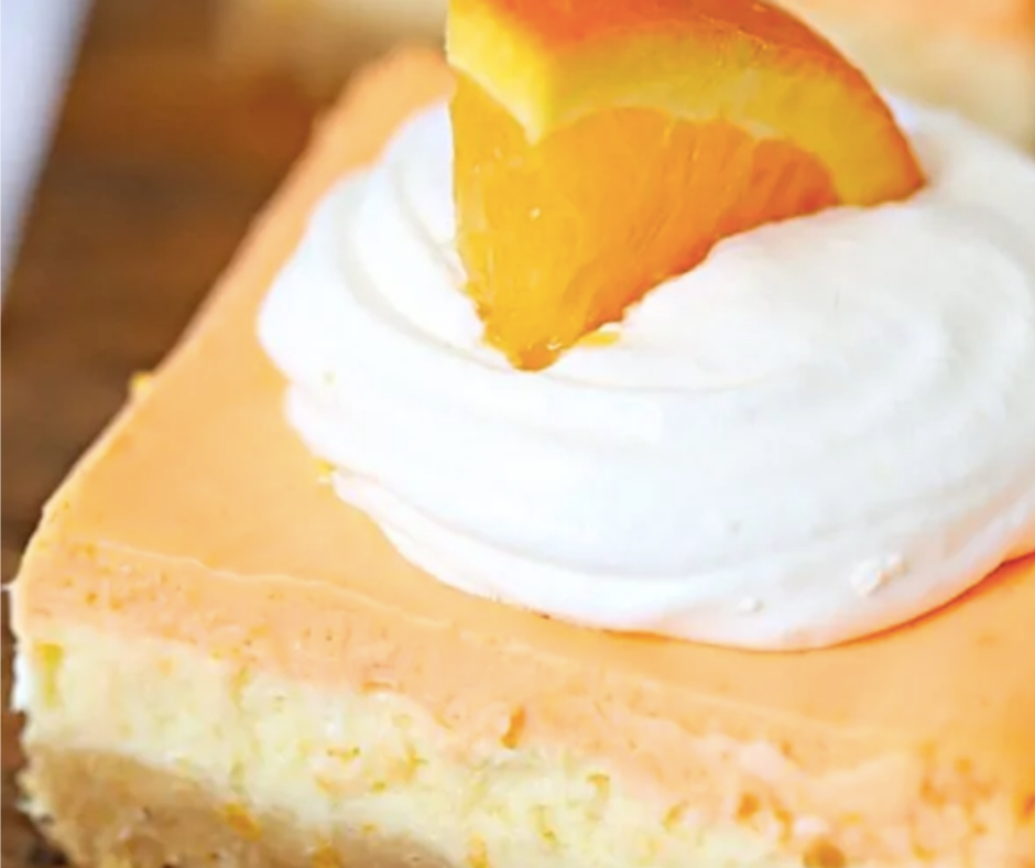 Orange Creamsicle Cheesecake Bars