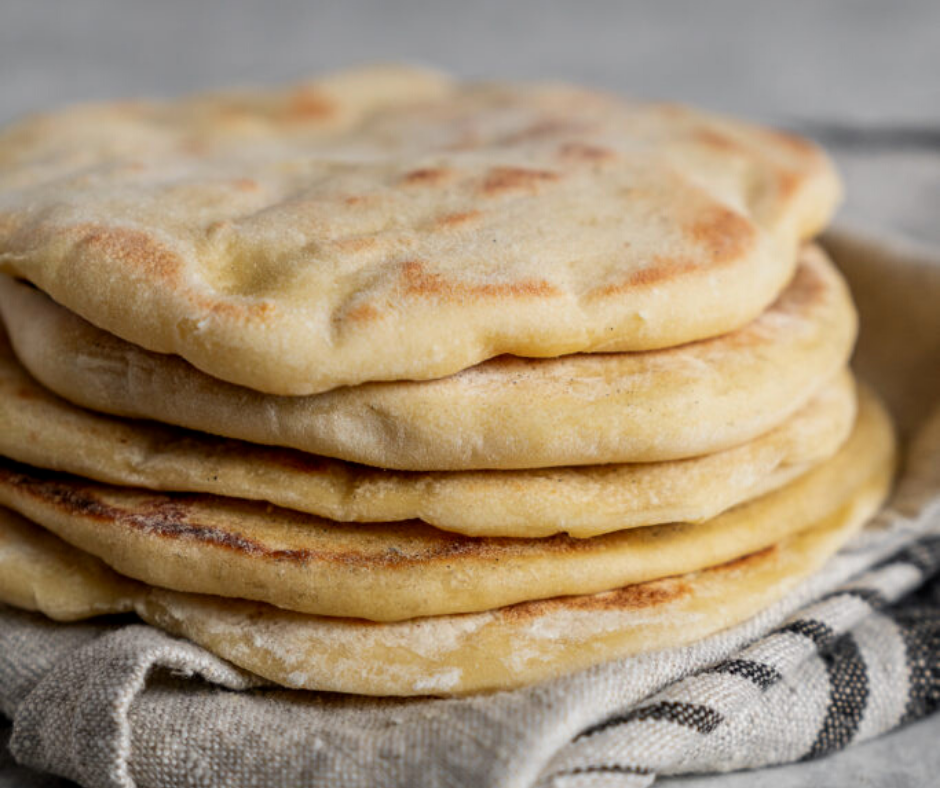 Make Pita Bread at Home