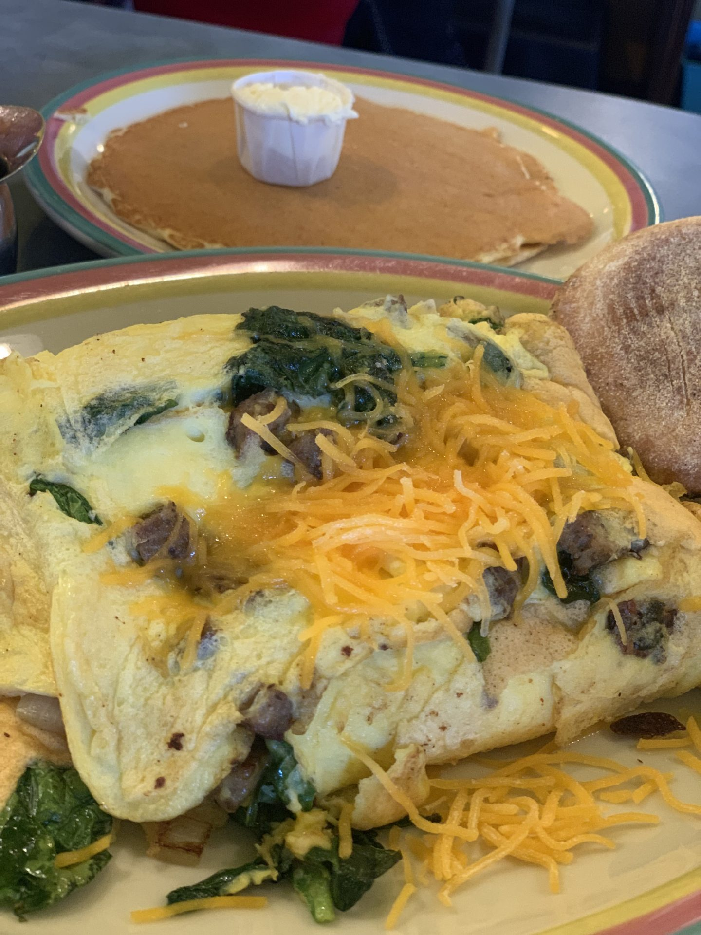 sugar and spice omelette