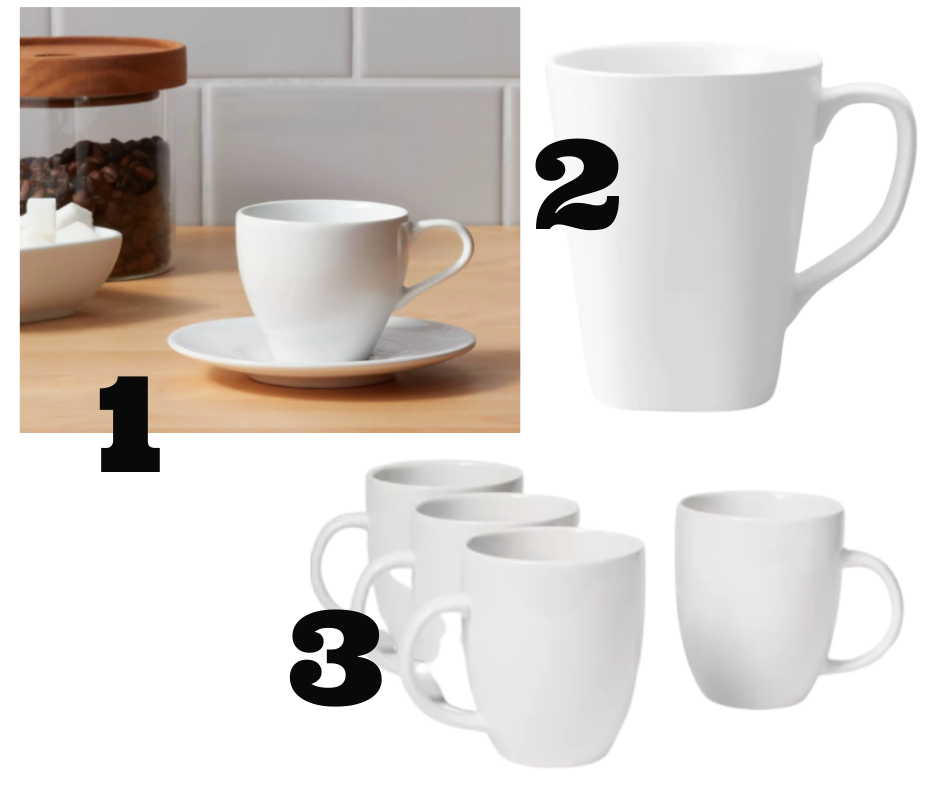 best porcelain cups