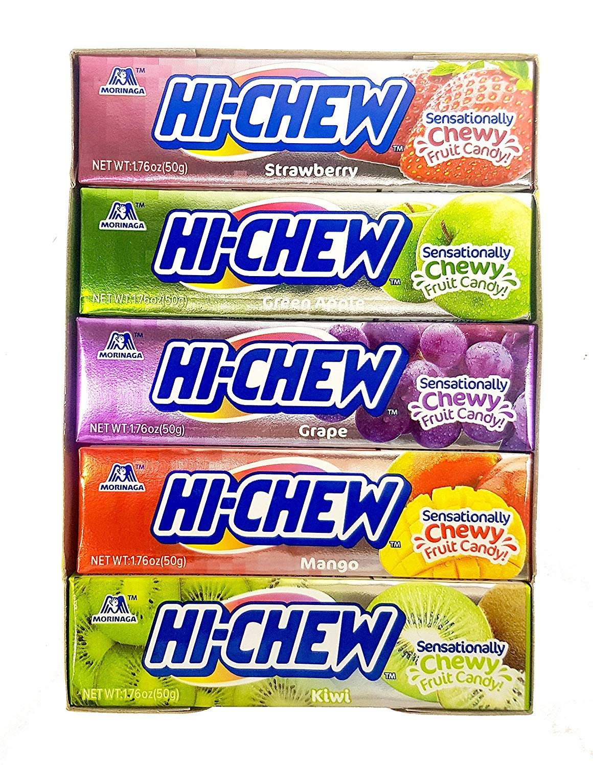 hi-chew - best japanese snacks