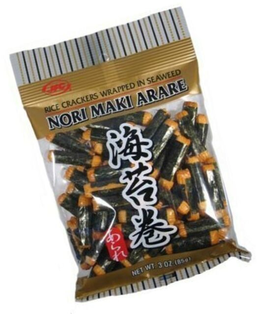 Nori Maki Arare - best japanese snacks
