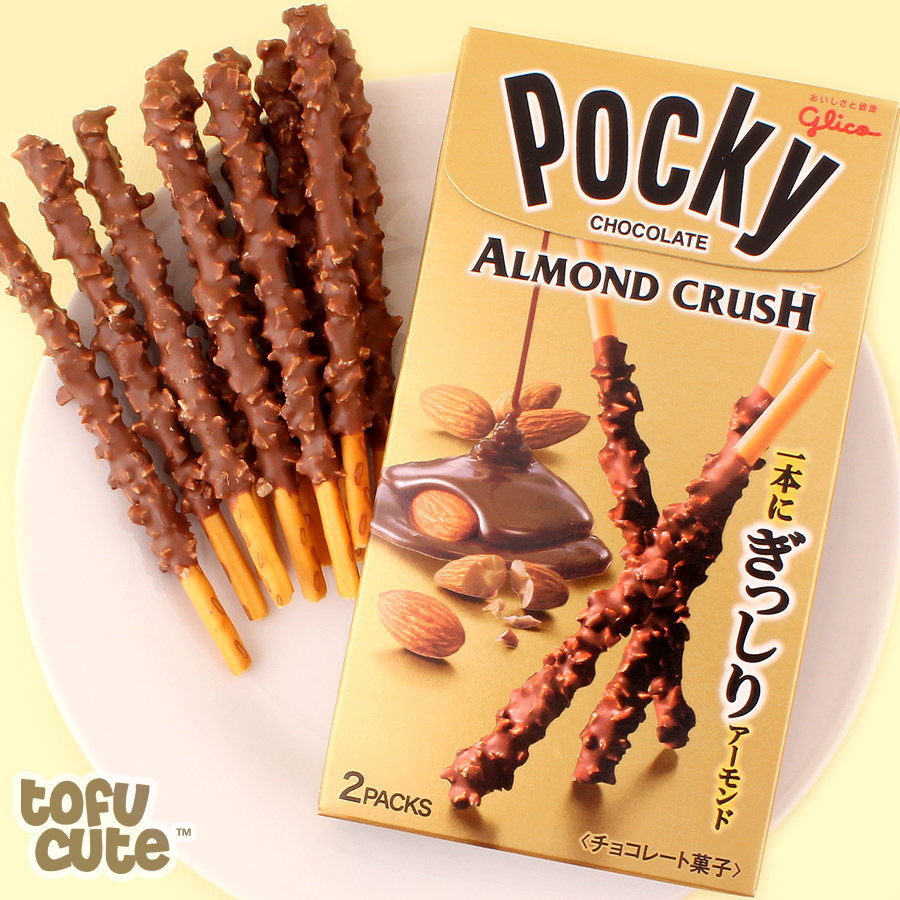 Almond Crush Pocky - best japanese snacks