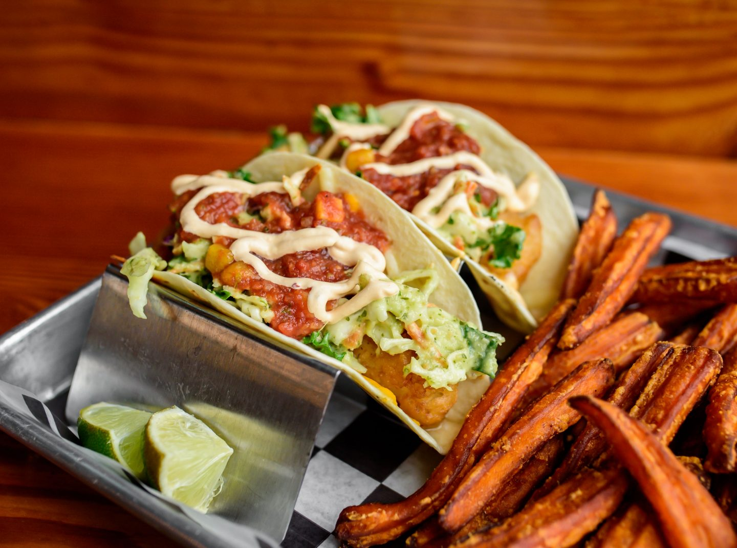 woodstock brewhouse fish tacos